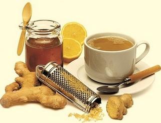 Чай из имбиря от кашля и простуды