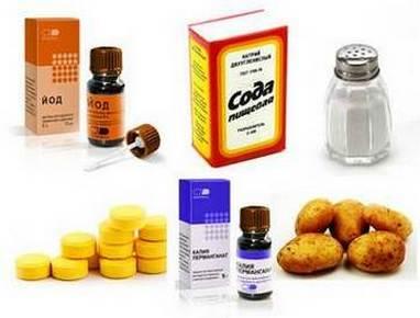 Составляющие лечебных растворов для полоскания горла
