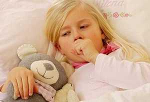 У девочки острая пневмония