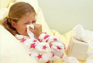 Ребенок простудился