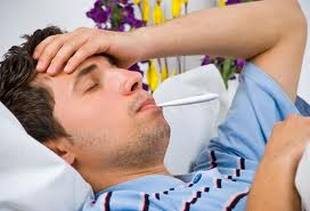 У мужчины грипп