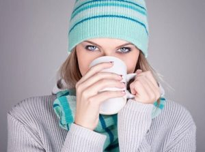 Теплая одежда и питье