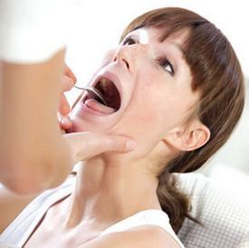 Осмотр горла