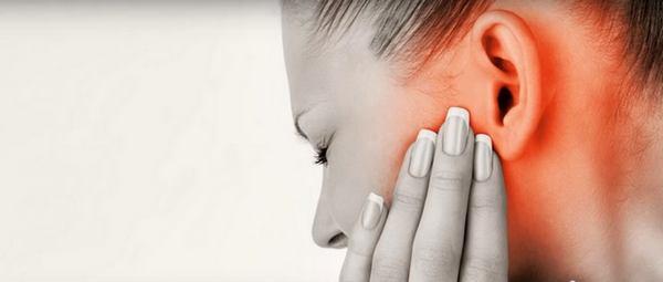 Боль в ушах во время простуды