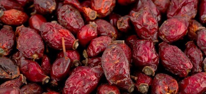 Сушеные ягоды шиповника