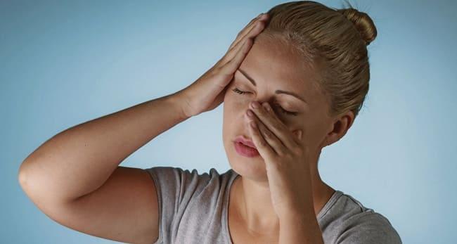 Боли при синусите