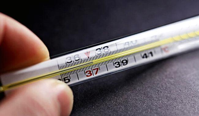 37 градусов на градуснике